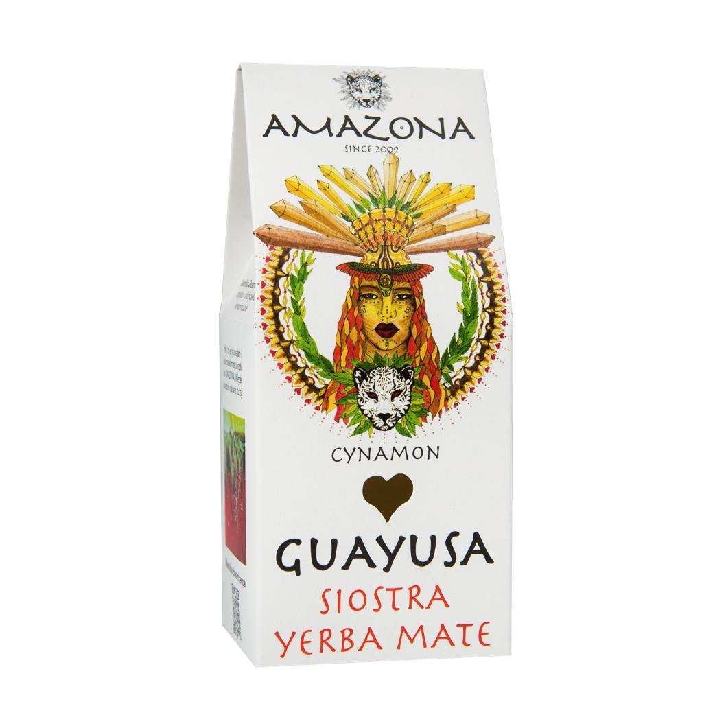 Guayusa 100g Cynamon AMAZONA