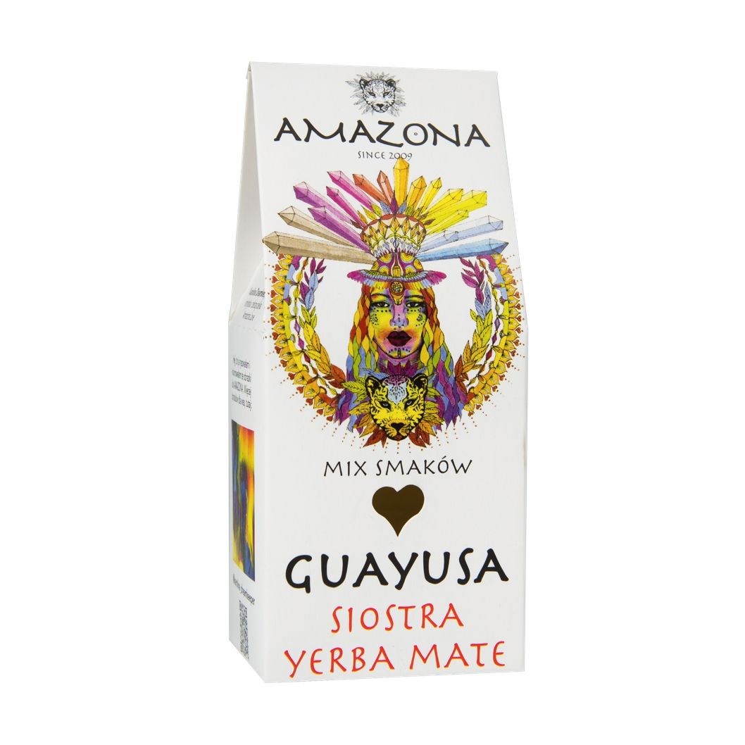 Guayusa 100g Mix Smaków AMAZONA