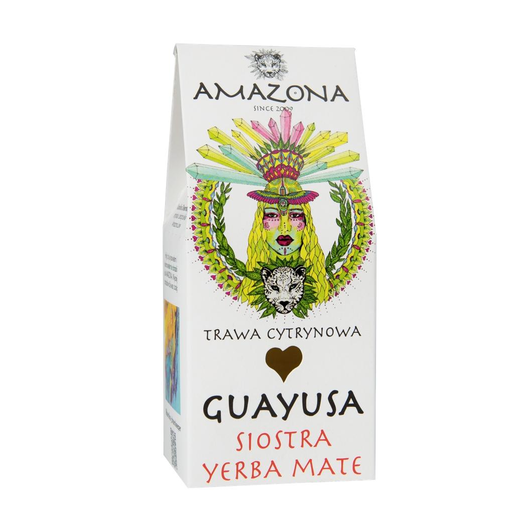 Guayusa 100g Trawa Cytrynowa AMAZONA