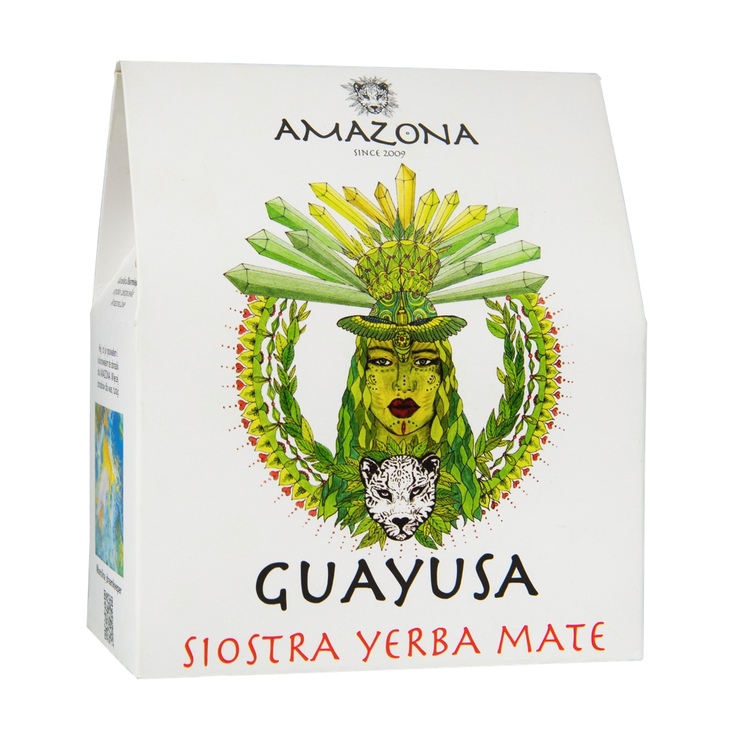 Guayusa 250g Naturalna AMAZONA
