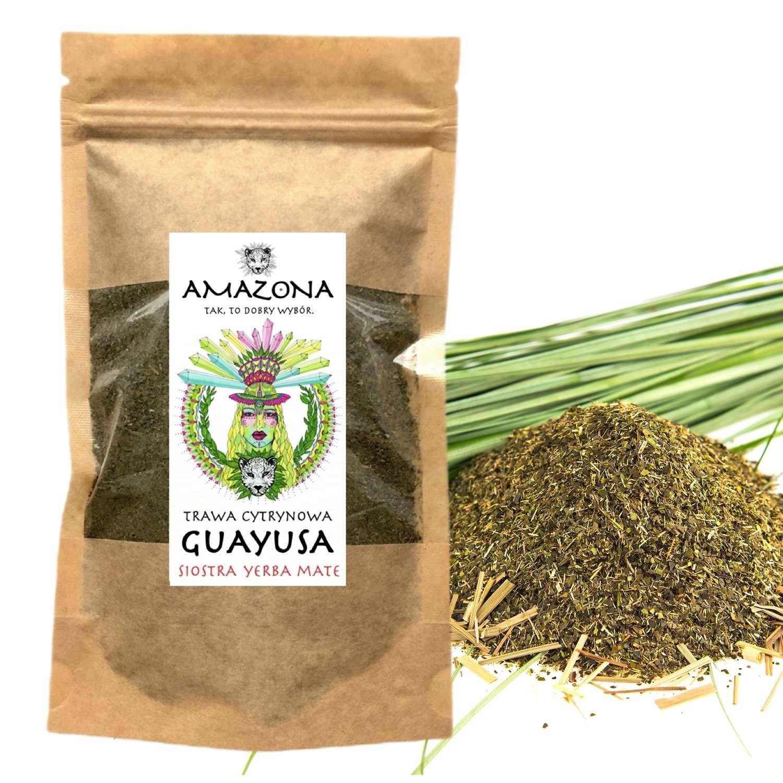 Guayusa 250g Trawa Cytrynowa AMAZONA